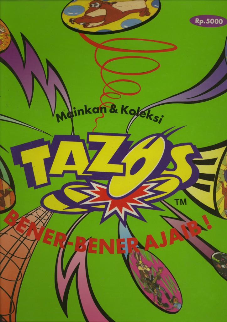 indische tazo map voorkant