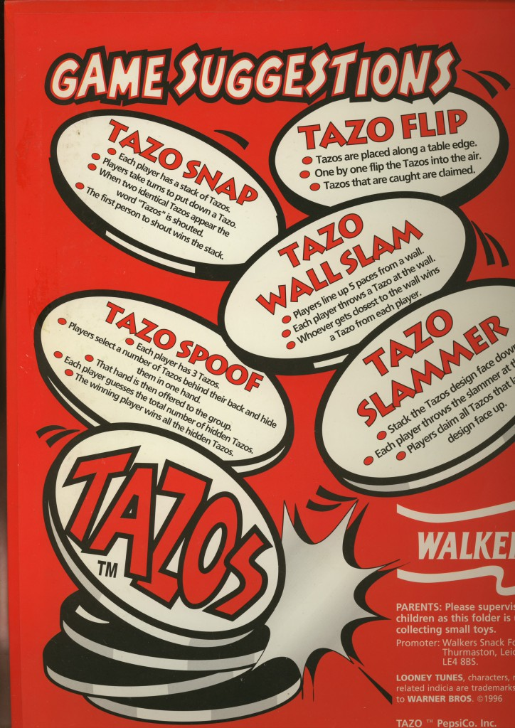 walkers map binnenkant